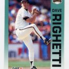 1992 Fleer Baseball #647 Dave Righetti - San Francisco Giants