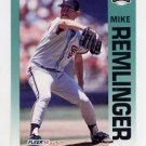 1992 Fleer Baseball #646 Mike Remlinger - San Francisco Giants