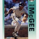 1992 Fleer Baseball #643 Willie McGee - San Francisco Giants