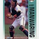1992 Fleer Baseball #641 Kirt Manwaring - San Francisco Giants