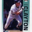 1992 Fleer Baseball #632 Royce Clayton - San Francisco Giants
