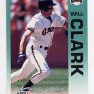 1992 Fleer Baseball #631 Will Clark - San Francisco Giants