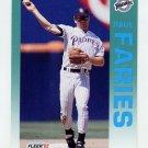 1992 Fleer Baseball #603 Paul Faries - San Diego Padres