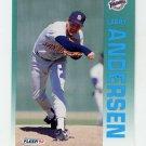 1992 Fleer Baseball #597 Larry Andersen - San Diego Padres