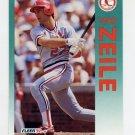 1992 Fleer Baseball #596 Todd Zeile - St. Louis Cardinals