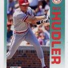 1992 Fleer Baseball #581 Rex Hudler - St. Louis Cardinals