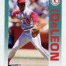 1992 Fleer Baseball #576 Jose DeLeon - St. Louis Cardinals