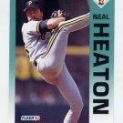 1992 Fleer Baseball #554 Neal Heaton - Pittsburgh Pirates