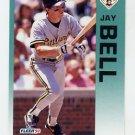1992 Fleer Baseball #549 Jay Bell - Pittsburgh Pirates