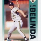 1992 Fleer Baseball #548 Stan Belinda - Pittsburgh Pirates