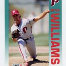 1992 Fleer Baseball #547 Mitch Williams - Philadelphia Phillies