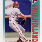 1992 Fleer Baseball #540 Terry Mulholland - Philadelphia Phillies