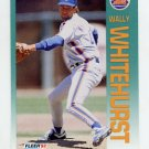 1992 Fleer Baseball #519 Wally Whitehurst - New York Mets