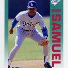 1992 Fleer Baseball #469 Juan Samuel - Los Angeles Dodgers