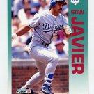 1992 Fleer Baseball #461 Stan Javier - Los Angeles Dodgers