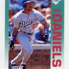 1992 Fleer Baseball #453 Kal Daniels - Los Angeles Dodgers