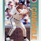 1992 Fleer Baseball #428 Casey Candaele - Houston Astros