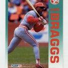 1992 Fleer Baseball #400 Glenn Braggs - Cincinnati Reds