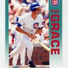 1992 Fleer Baseball #381 Mark Grace - Chicago Cubs