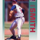 1992 Fleer Baseball #370 Pete Smith - Atlanta Braves