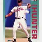 1992 Fleer Baseball #359 Brian Hunter - Atlanta Braves