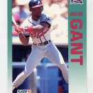 1992 Fleer Baseball #357 Ron Gant - Atlanta Braves