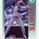 1992 Fleer Baseball #346 Devon White - Toronto Blue Jays