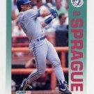 1992 Fleer Baseball #340 Ed Sprague - Toronto Blue Jays