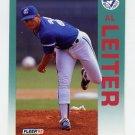 1992 Fleer Baseball #334 Al Leiter - Toronto Blue Jays