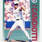 1992 Fleer Baseball #326 Tom Candiotti - Toronto Blue Jays