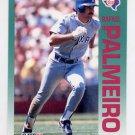 1992 Fleer Baseball #311 Rafael Palmeiro - Texas Rangers