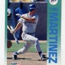 1992 Fleer Baseball #287 Tino Martinez - Seattle Mariners