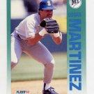 1992 Fleer Baseball #286 Edgar Martinez - Seattle Mariners