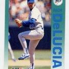 1992 Fleer Baseball #278 Rich DeLucia - Seattle Mariners