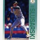 1992 Fleer Baseball #266 Joe Slusarski - Oakland A's
