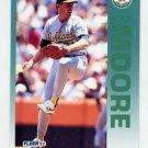 1992 Fleer Baseball #263 Mike Moore - Oakland A's