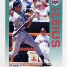 1992 Fleer Baseball #209 Scott Leius - Minnesota Twins