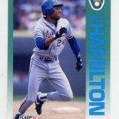 1992 Fleer Baseball #177 Darryl Hamilton - Milwaukee Brewers