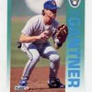 1992 Fleer Baseball #176 Jim Gantner - Milwaukee Brewers