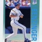1992 Fleer Baseball #152 Todd Benzinger - Kansas City Royals