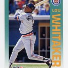1992 Fleer Baseball #149 Lou Whitaker - Detroit Tigers