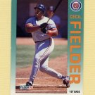 1992 Fleer Baseball #133 Cecil Fielder - Detroit Tigers Ex