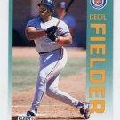 1992 Fleer Baseball #133 Cecil Fielder - Detroit Tigers NM-M