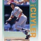 1992 Fleer Baseball #130 Milt Cuyler - Detroit Tigers