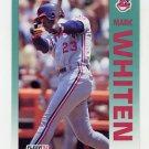 1992 Fleer Baseball #126 Mark Whiten - Cleveland Indians