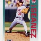 1992 Fleer Baseball #122 Rudy Seanez - Cleveland Indians