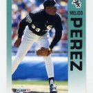 1992 Fleer Baseball #095 Melido Perez - Chicago White Sox