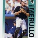 1992 Fleer Baseball #090 Matt Merullo - Chicago White Sox