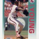 1992 Fleer Baseball #073 Cliff Young - California Angels