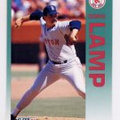 1992 Fleer Baseball #042 Dennis Lamp - Boston Red Sox